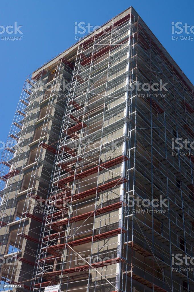 Highrise Skeleton stock photo