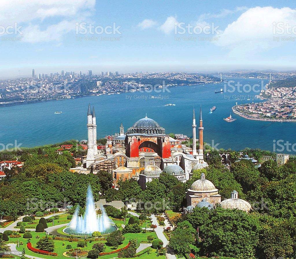 HighSophia Istanbul stock photo
