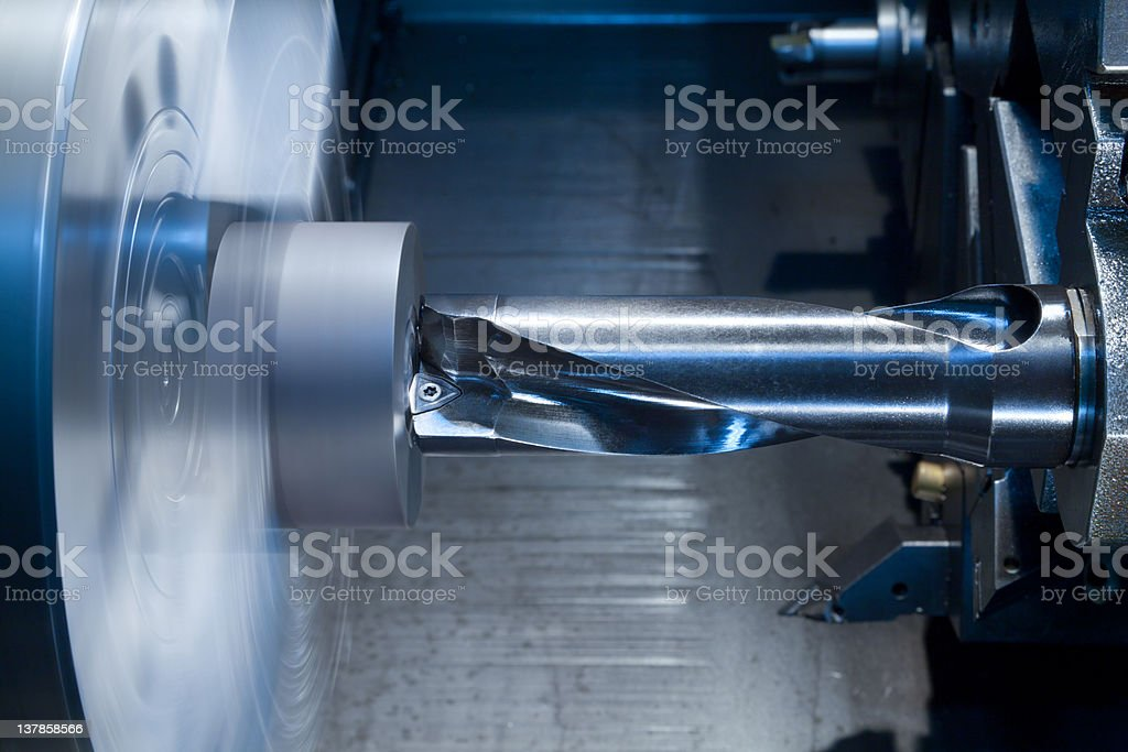 High-speed drill royalty-free stock photo