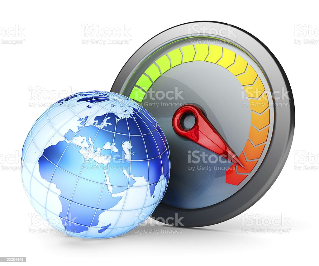 High-speed Internet concept stock photo