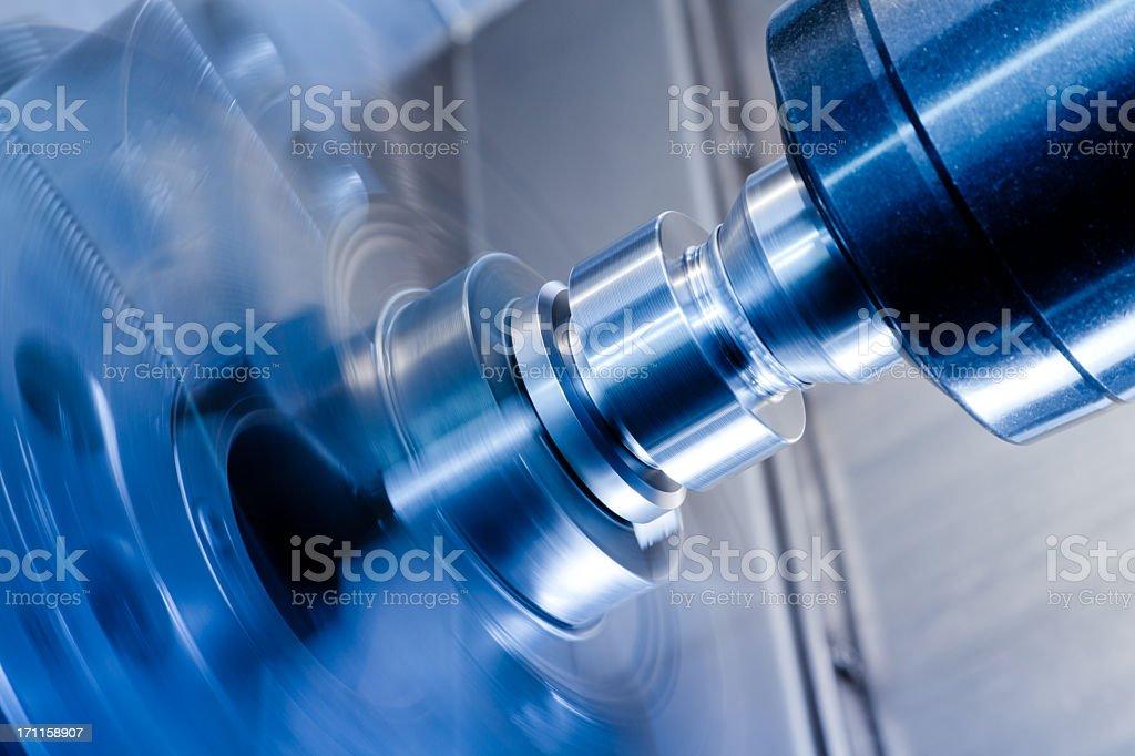 High-speed rotary thimble stock photo