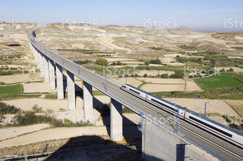 high-speed train stock photo
