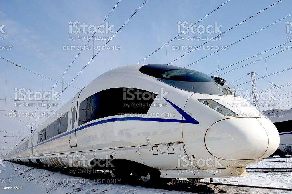 High-speed train. stock photo