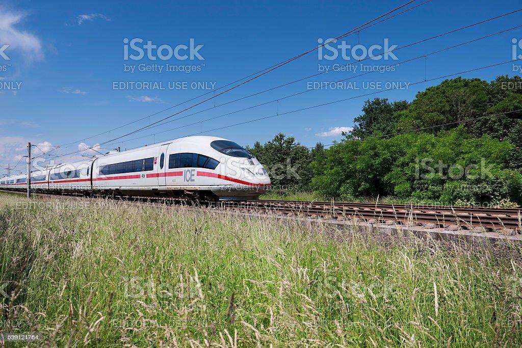 ICE Highspeed train stock photo