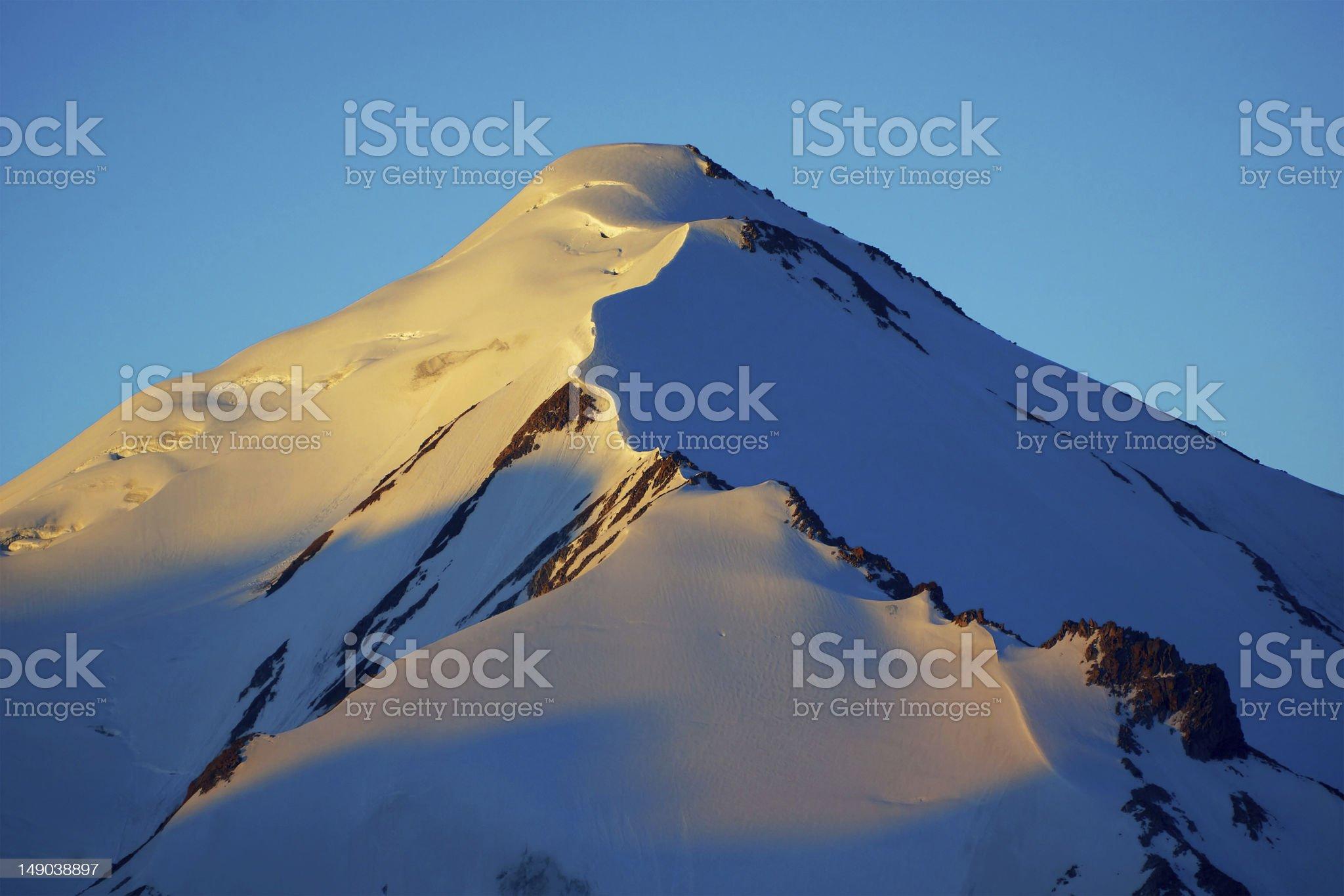 Hight mountains royalty-free stock photo