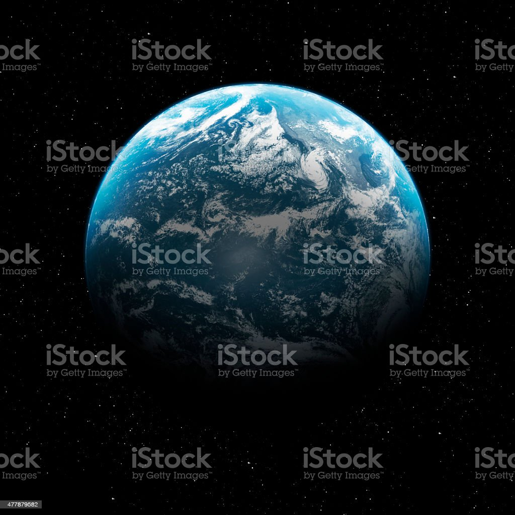 Hight quality Earth image stock photo