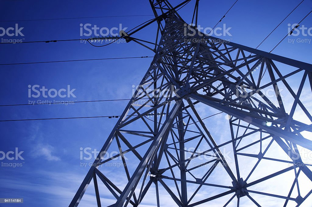 hight voltage royalty-free stock photo