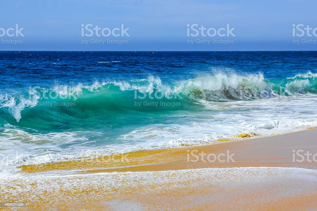 Hight Waves stock photo