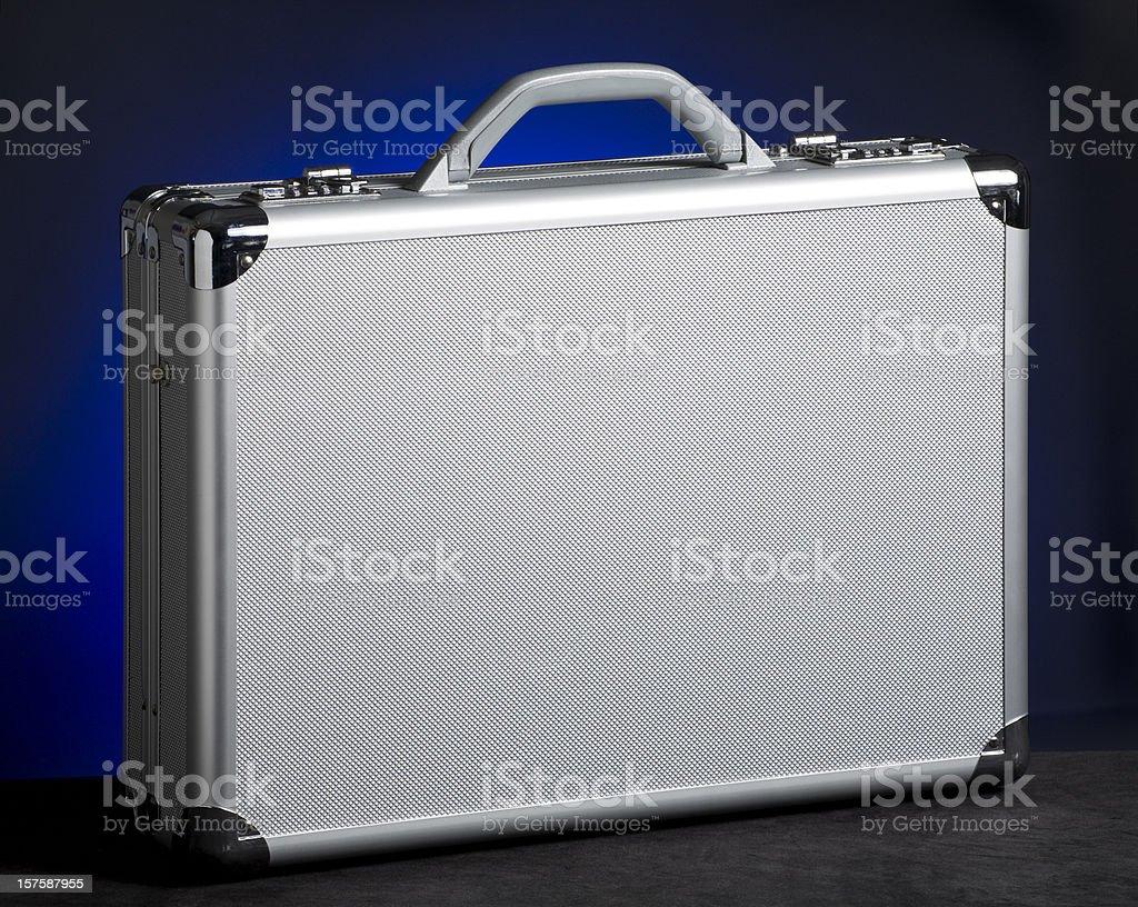 High-tech attach? case stock photo