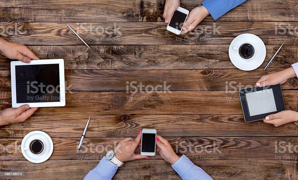 High-Tech Human Generation Lifestyle stock photo