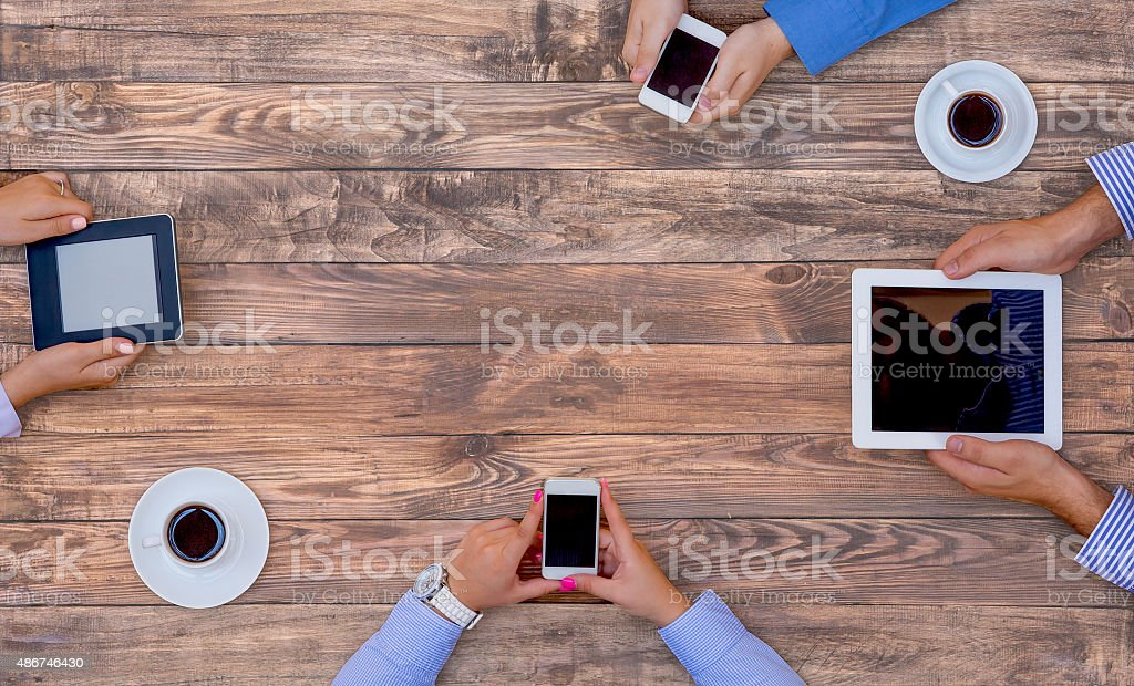 High-Tech Human Generation Lifestyle stock photo