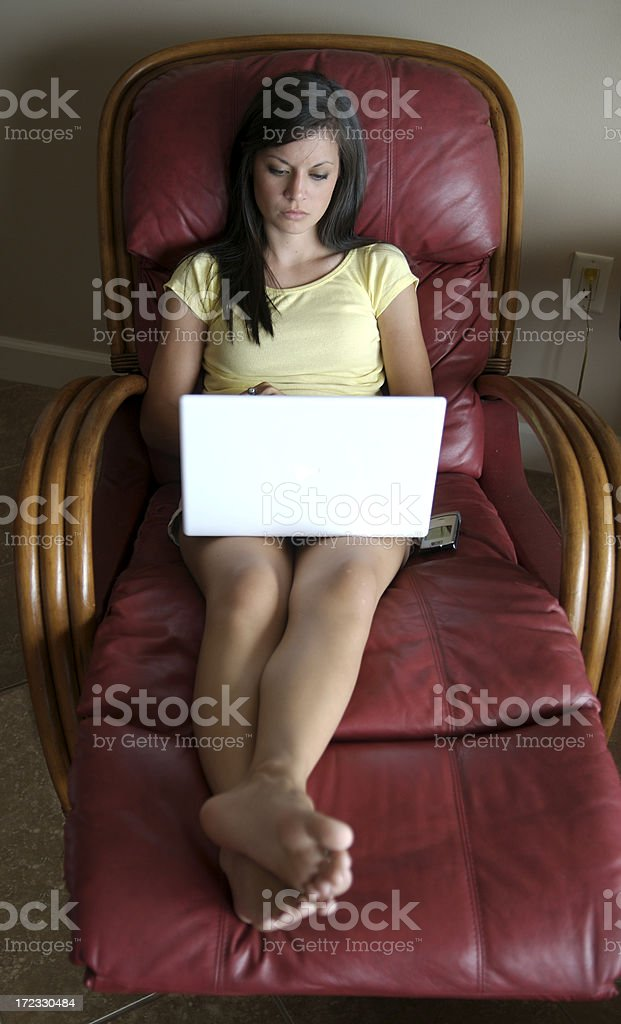 Hightech Relaxation royalty-free stock photo