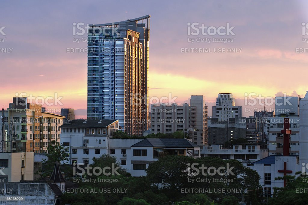 Hightrise Living stock photo