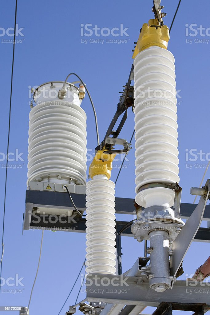 High-voltage equipment. royalty-free stock photo