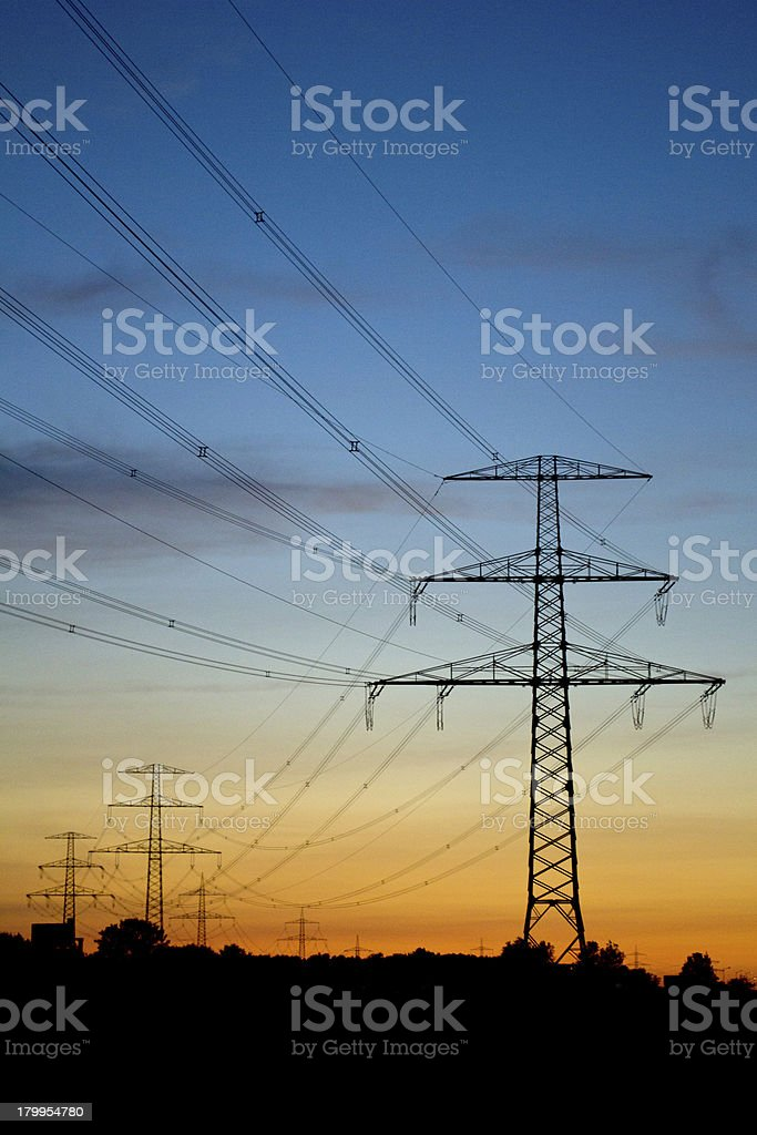Highvoltage2 (vertical) royalty-free stock photo