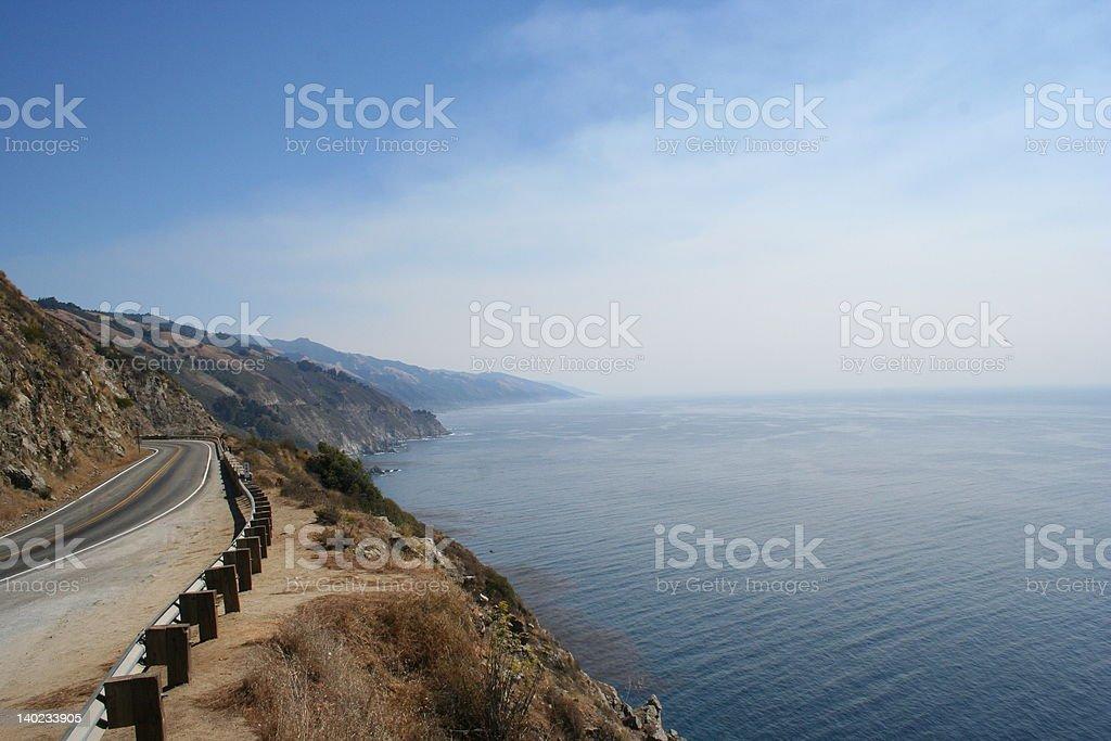 Highway 1 stock photo