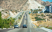 Highway  between Cabo San Lucas and San Jose Del Cabo