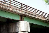 Highway Bridge in Need of Repair