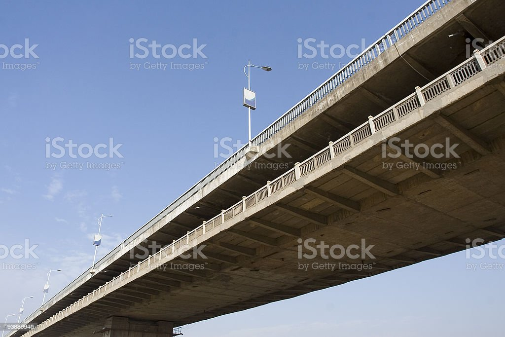 highway bridge royalty-free stock photo