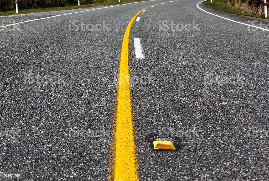 highway closeup stock photo