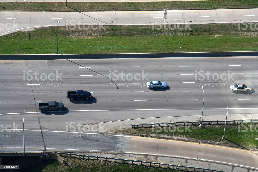 Highway Cruising royalty-free stock photo