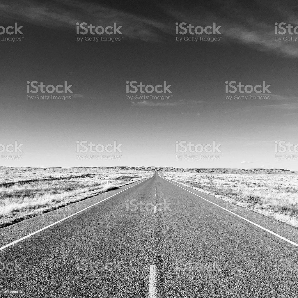 Highway distance stock photo