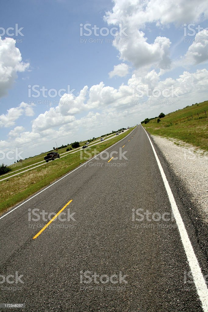 Highway Driving royalty-free stock photo