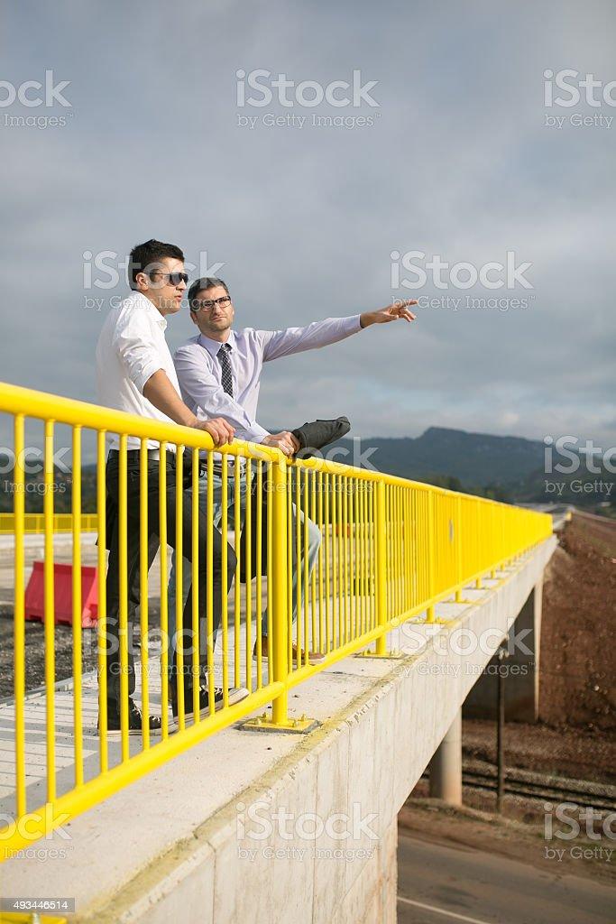 Highway Engineers stock photo