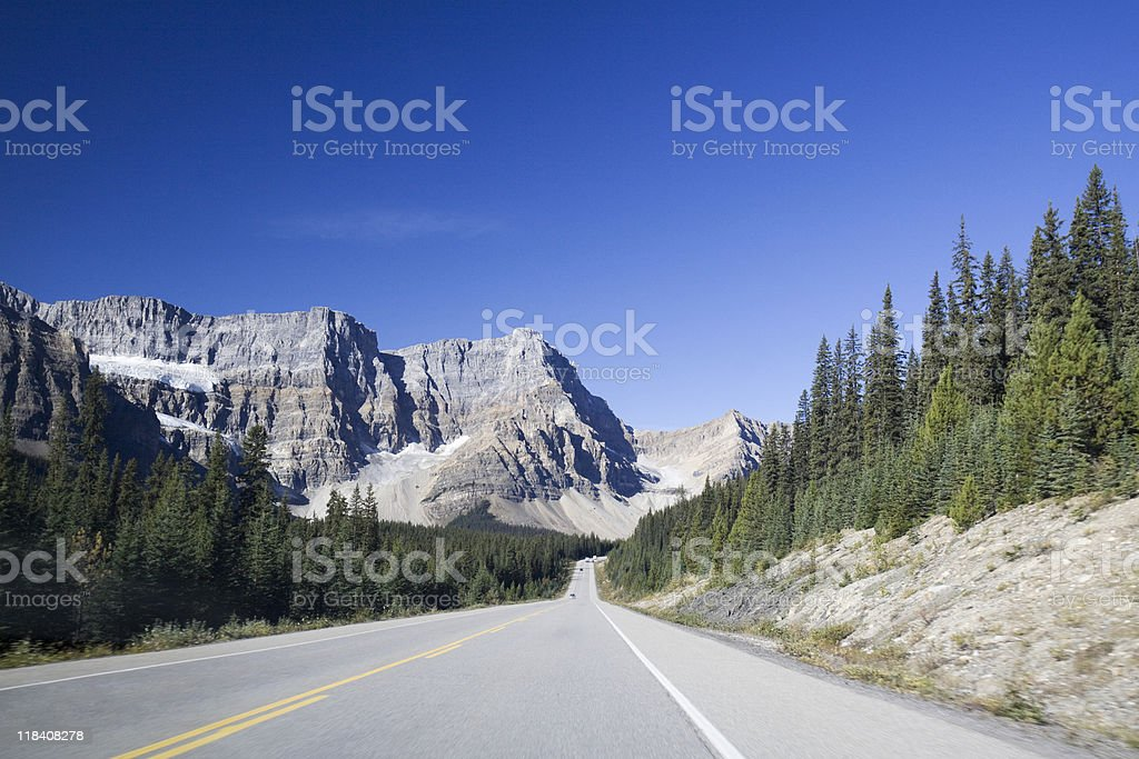 highway in Canada stock photo