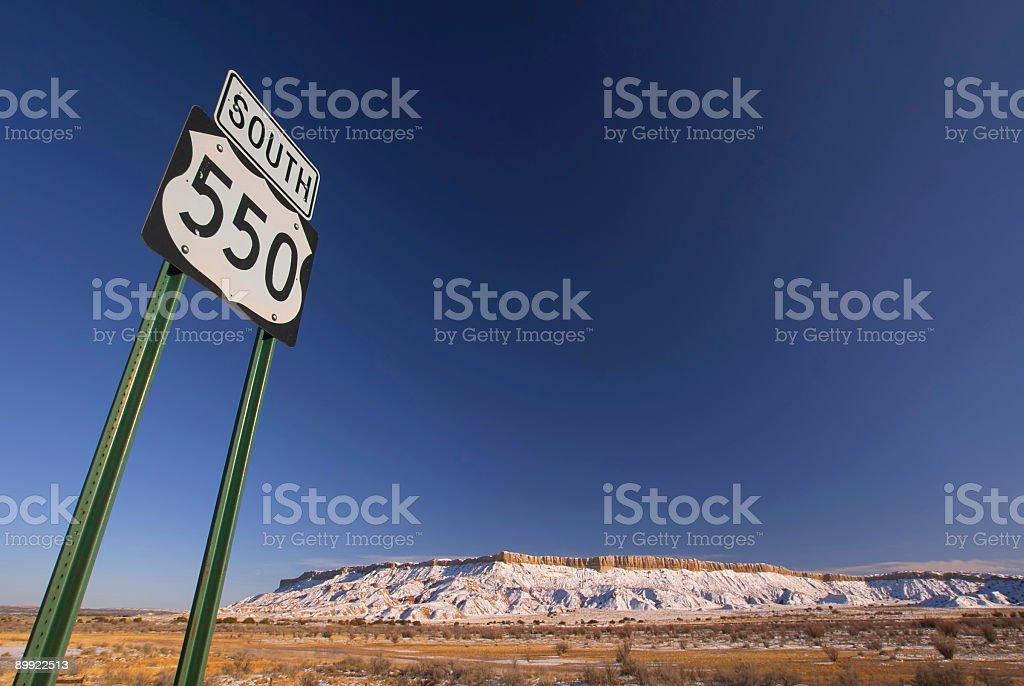 highway landscape stock photo