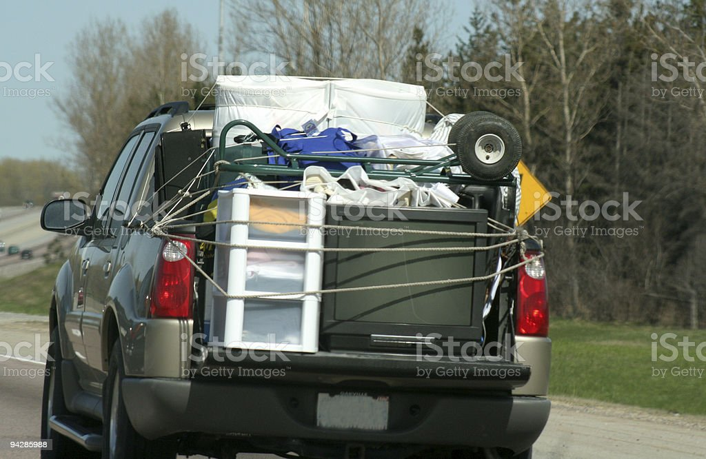 Highway Move royalty-free stock photo