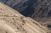 Highway on high-attitude in Leh district