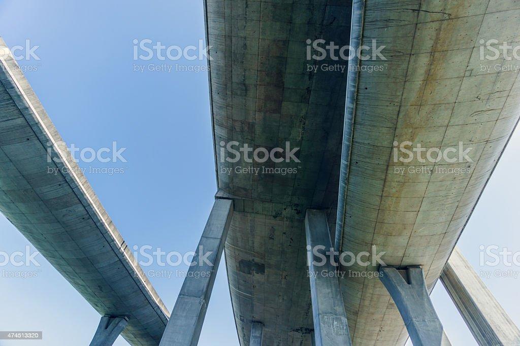 highway overpass stock photo