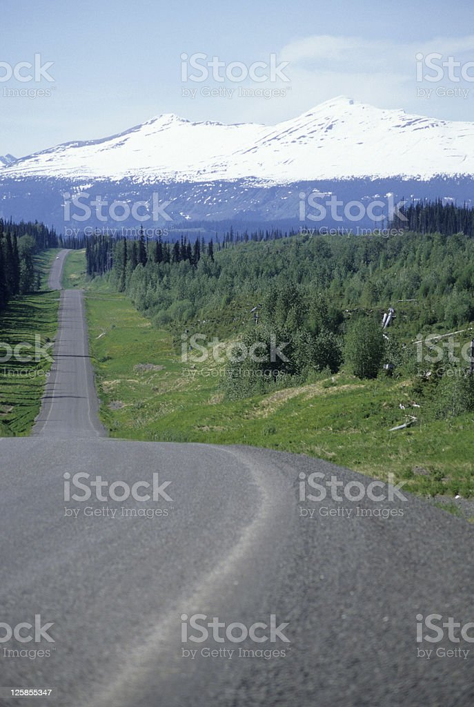 BC highway royalty-free stock photo
