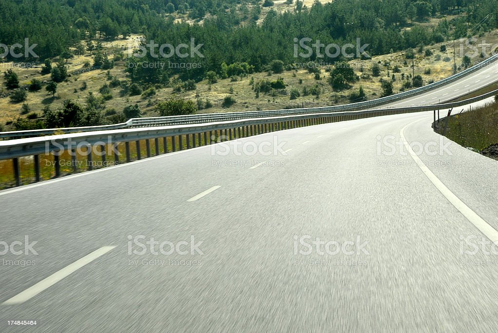 Highway (Click for more) royalty-free stock photo