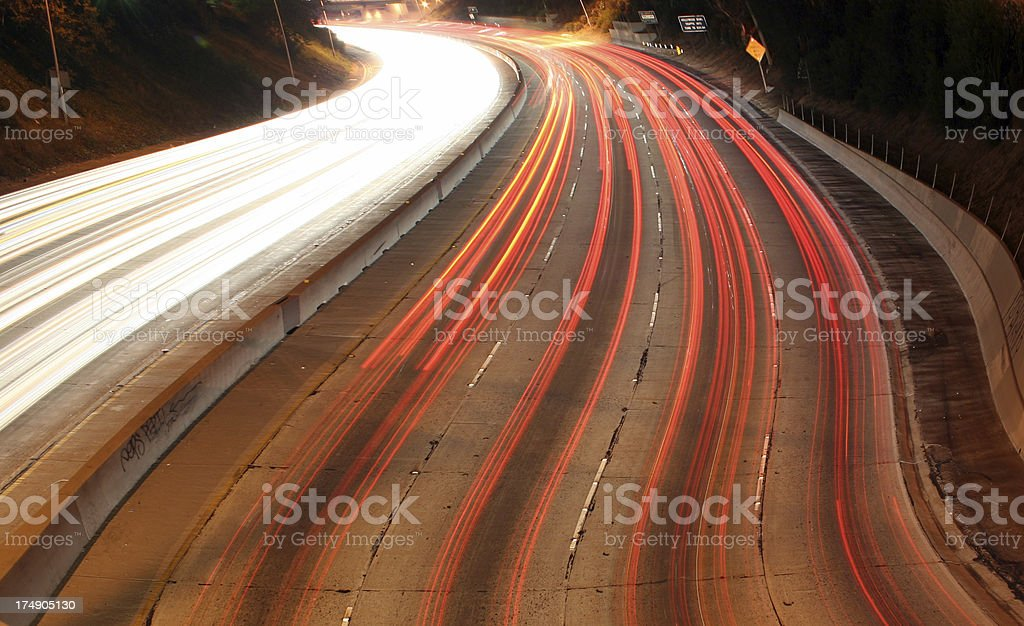 Highway (5) royalty-free stock photo