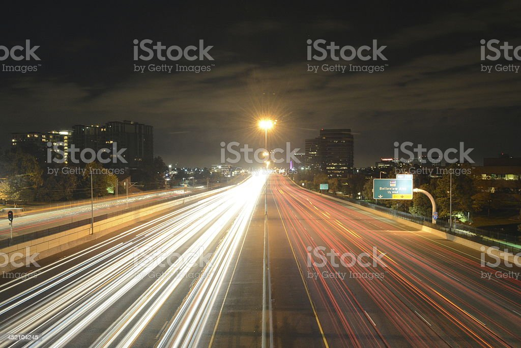 High-Way stock photo