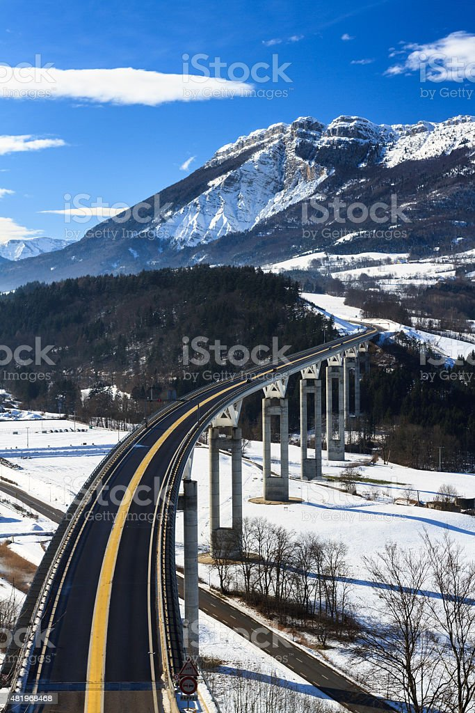 A51 Highway stock photo