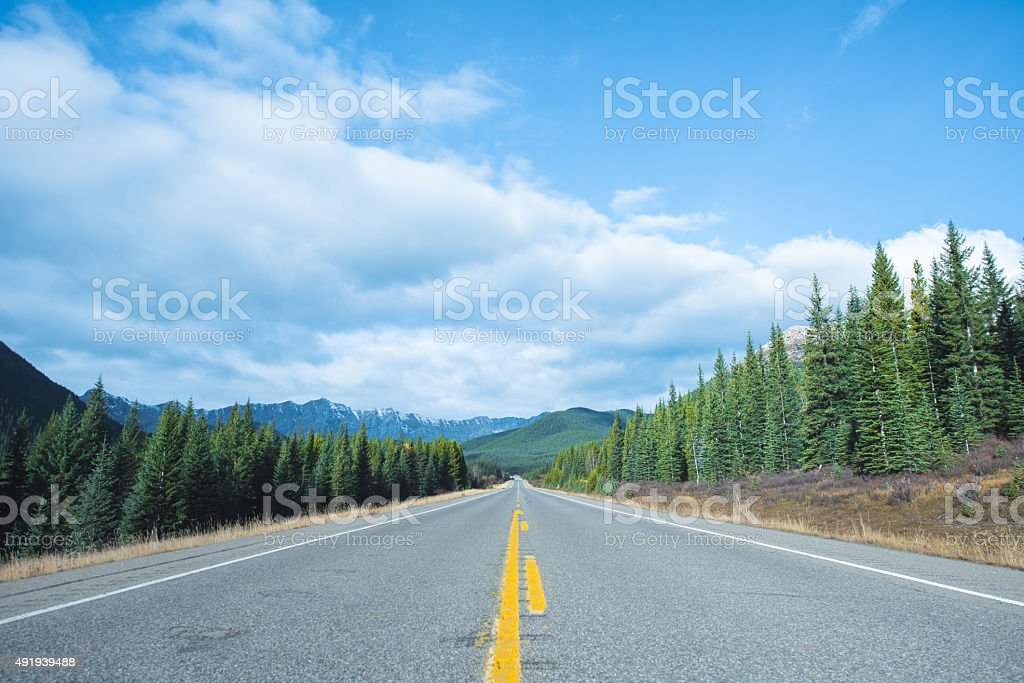Highway the road ahead opportunity stock photo