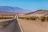 US Highway to death valley national park, California / Nevada