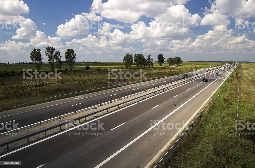 Highway to Horizon 4 royalty-free stock photo