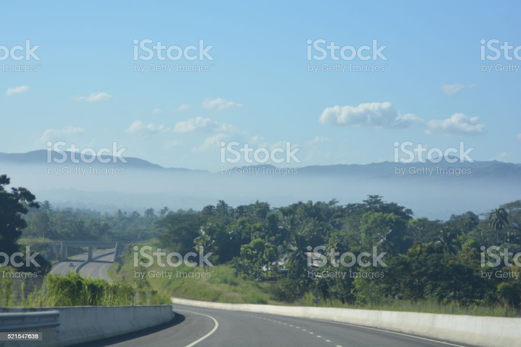 Highway to Paridise stock photo