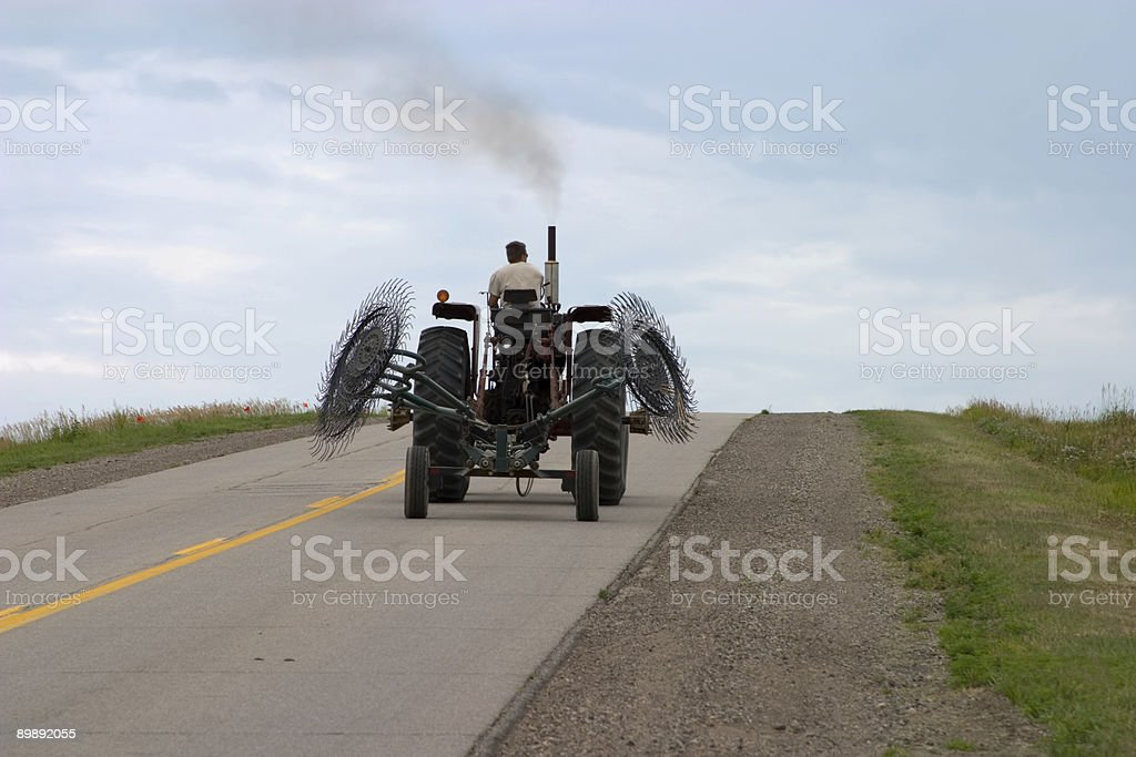 Highway Tractor royalty-free stock photo