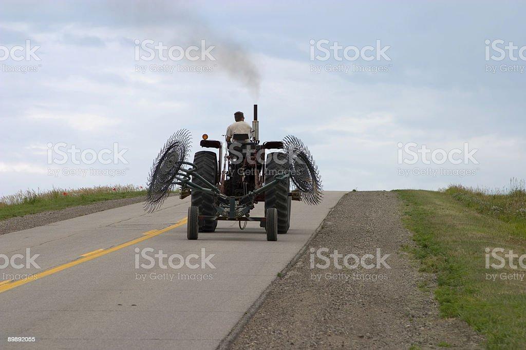 Highway Tractor stock photo