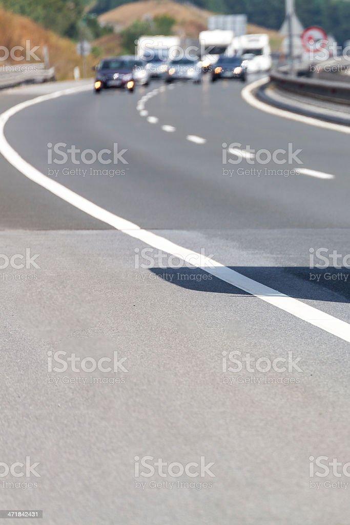 Highway Traffic IV royalty-free stock photo