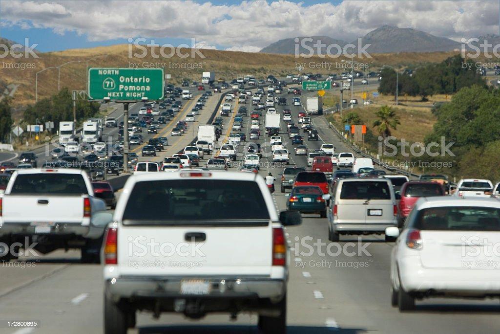 highway traffic (#43 of serise) royalty-free stock photo