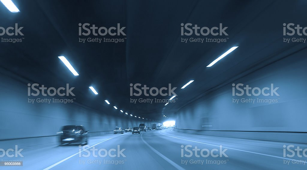 highway tunnel royalty-free stock photo