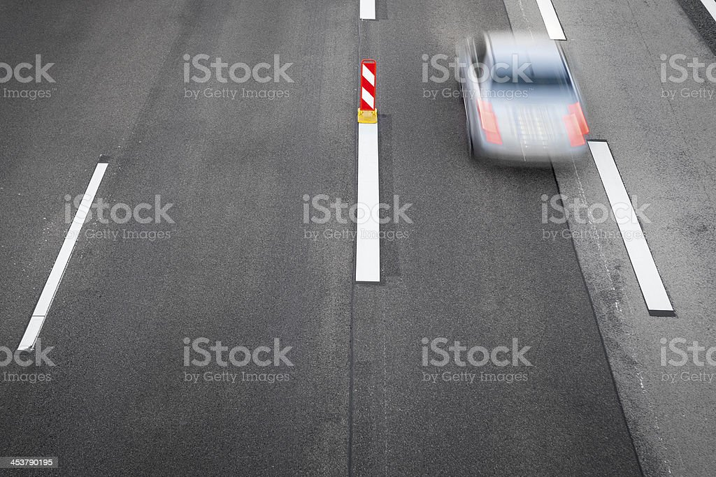 Highway - view from above royalty-free stock photo