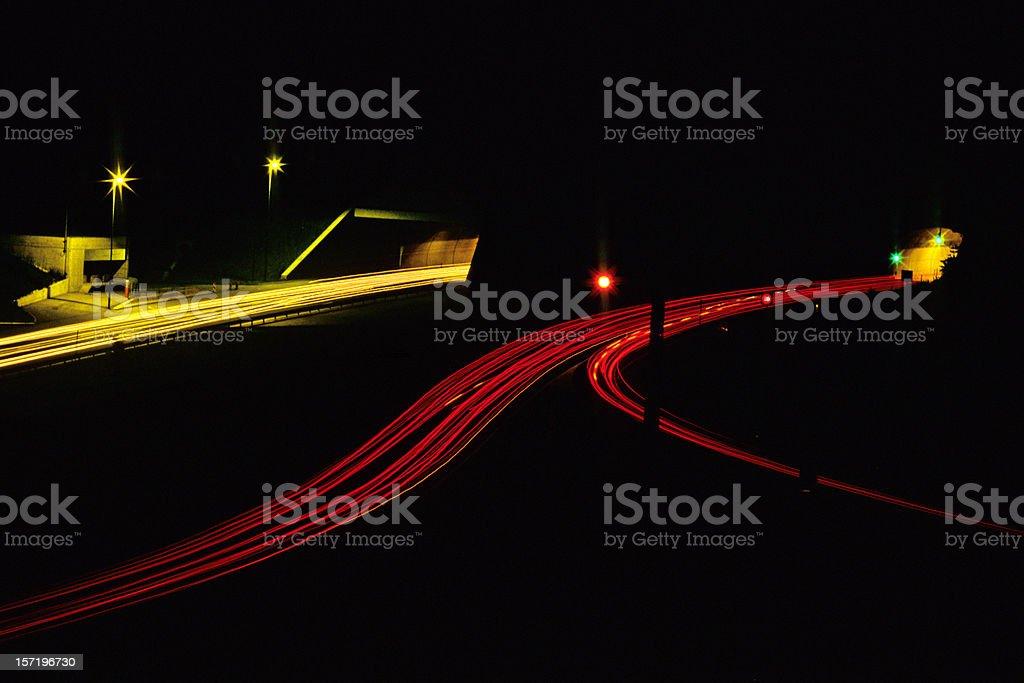 Highway. XXLarge royalty-free stock photo