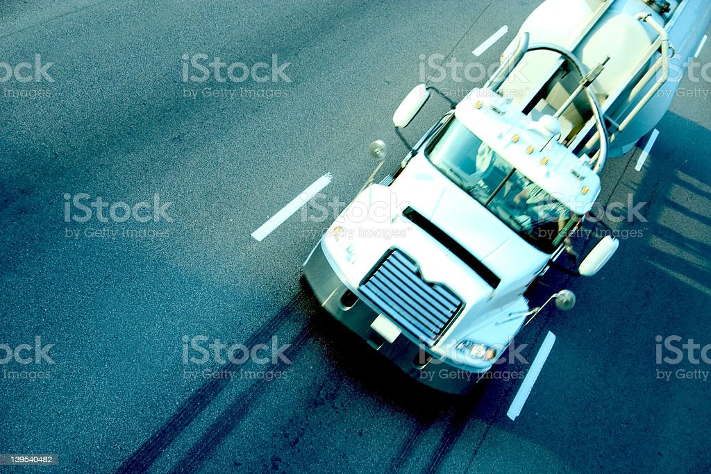 highwaytruck030 royalty-free stock photo